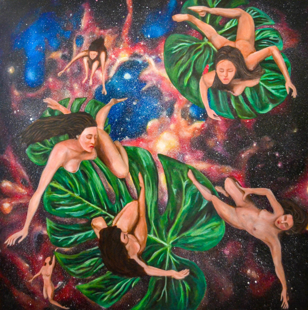 Floating in the universe